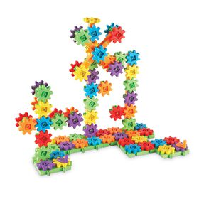Learning Resources - Méga jeu de construction Gears! Gears! Gears! de 150 pièces.