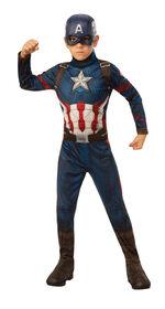 Captain America Costume - Small 4-6