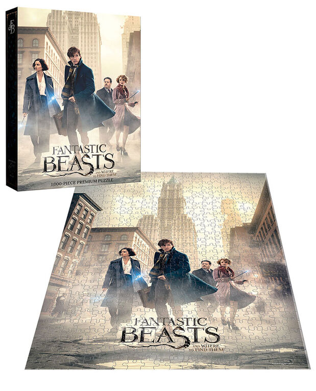 "Fantastic Beasts ""The Search"" De 1 000 Pièces De Puzzle"
