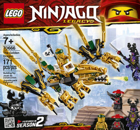 LEGO Ninjago The Golden Dragon 70666