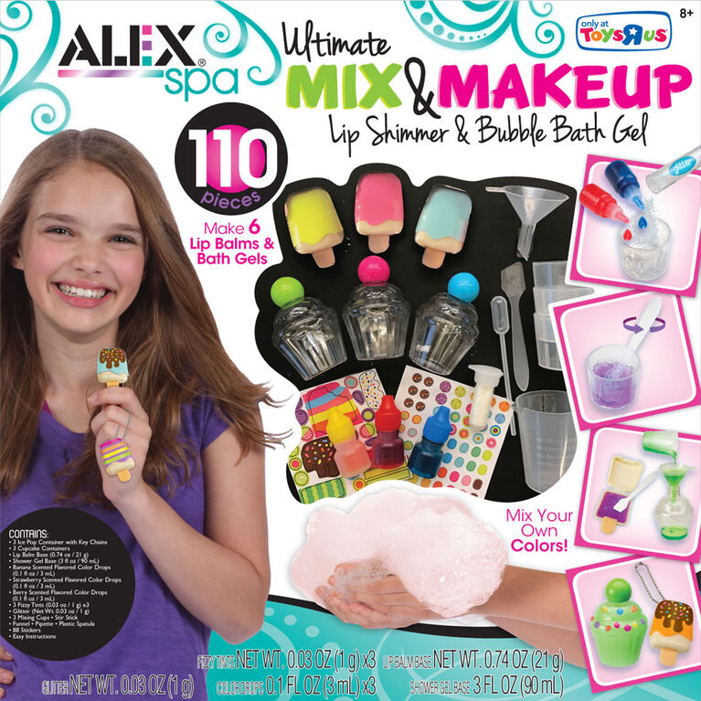 ALEX Spa -  Ultimate Mix And Make Up Lip And Bath.