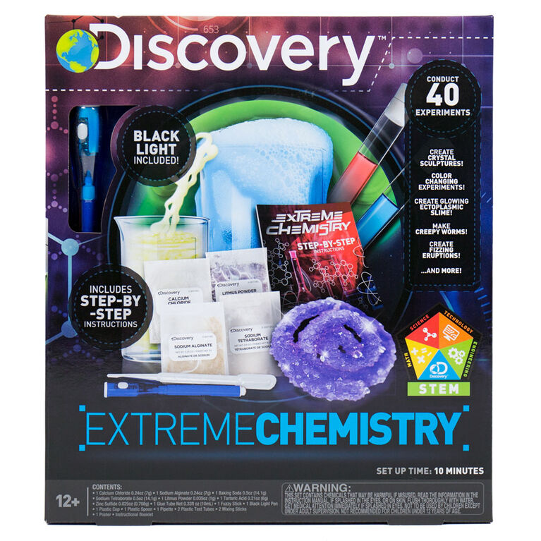 DISCOVERY Extreme Chemsitry