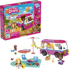Mega Construx - Barbie - Aventure en Camping-car de rêve