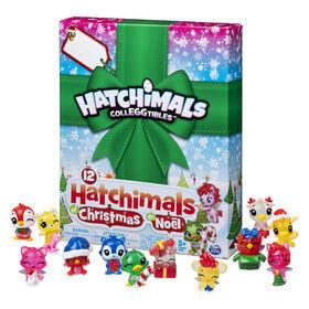 Hatchimals CollEGGtibles, Coffret cadeau surprise 12Hatchimals de Noël