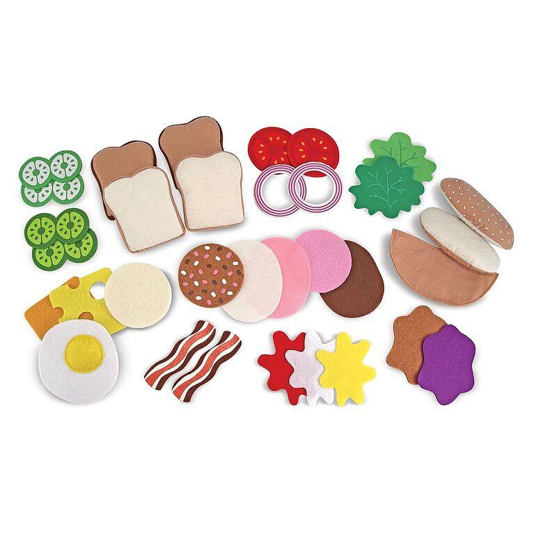Melissa & Doug - Felt Food Sandwich Set