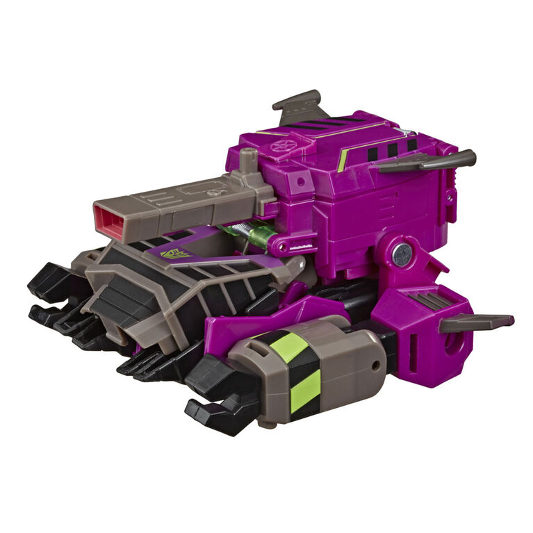Transformers Toys Cyberverse Ultra Class Clobber Action Figure