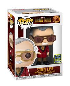 Figurine en Vinyle Stan Lee Cameo par Funko POP! Icônes (Convention D'été Exclusive) - R Exclusif