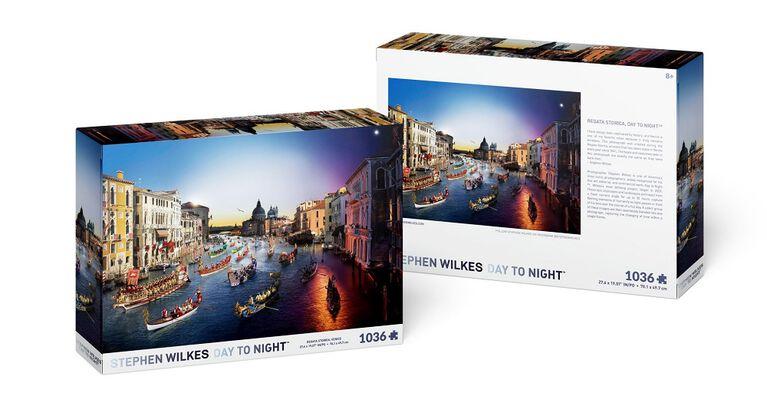 Stephen Wilkes Day to Night - Regata Storica 1036 piece Puzzle