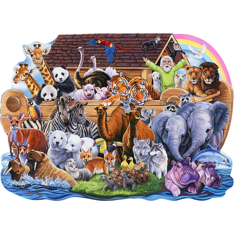Casse-Tête En Forme D'Arche De Noah