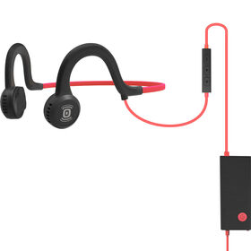 Aftershokz Sportz Titanium w/Mic Red