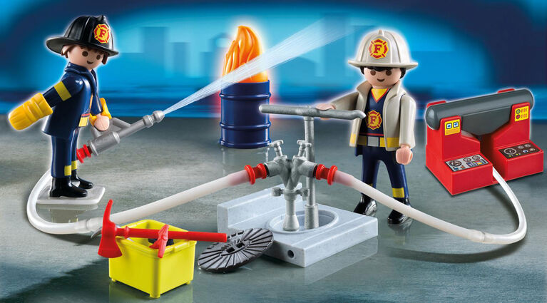 Playmobil - Mallette Transportable de Pompiers (5651)