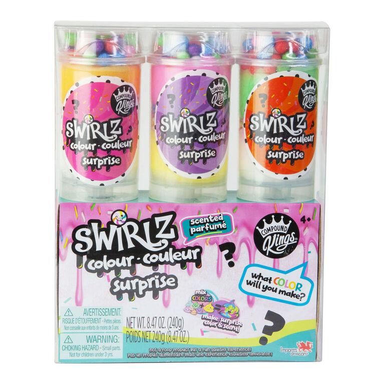 Compound Kings - Swirlz Ice Cream Push Pops 3 Pack