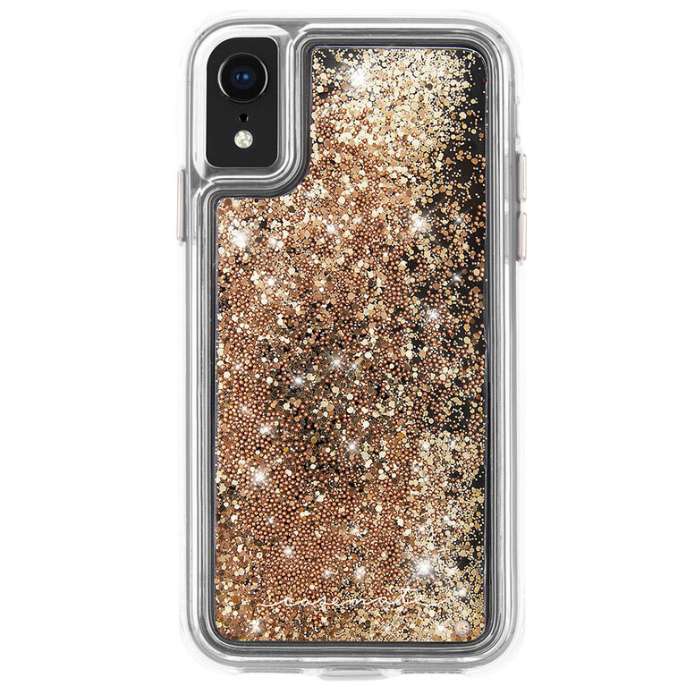 Case-Mate Waterfall Case iPhoneXR Gold