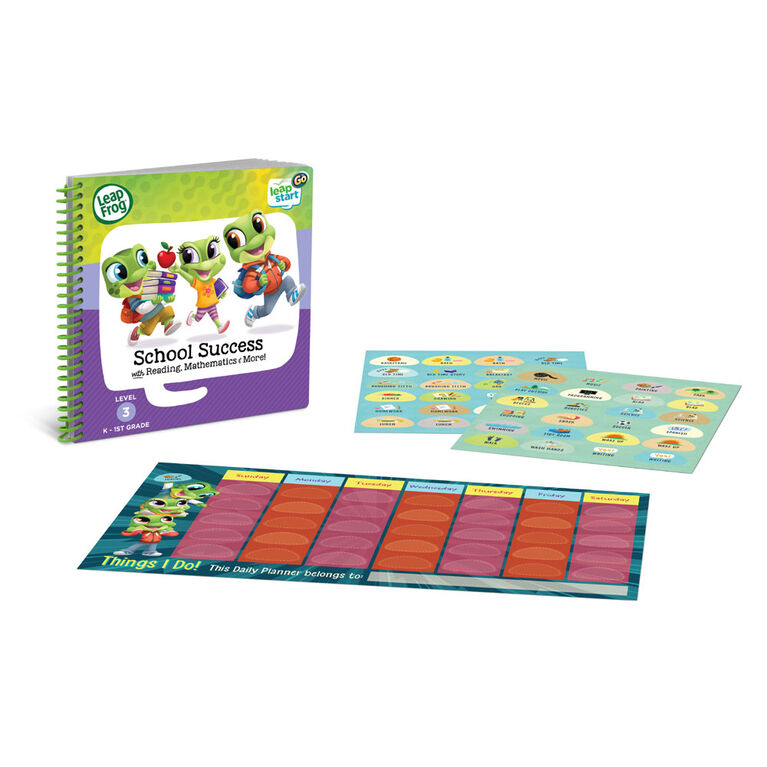 LeapFrog LeapStart Go Deluxe Activity Set - School Success - English Edition