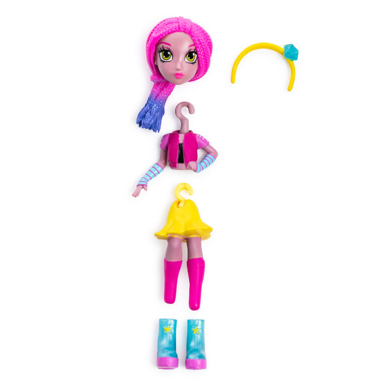 Off The Hook Style Doll, Vivian (Concert), 4-inch Small Doll with Mix and Match Fashions - R Exclusive