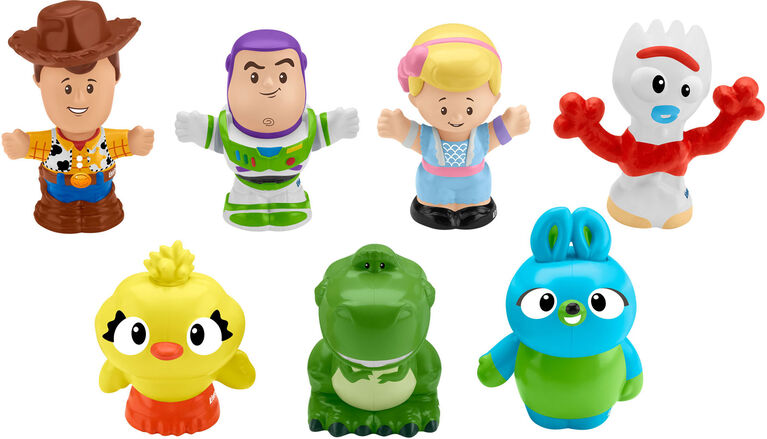 Little People - Histoire de jouets 4 - Coffret de 7 figurines