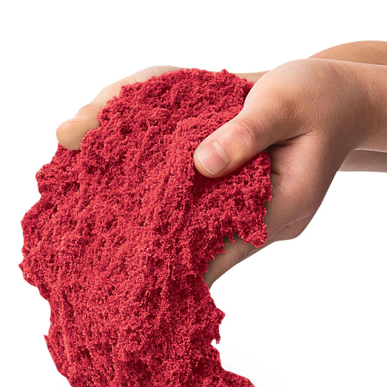 Kinetic Sand Scents, 8oz Cherry Fizz Red Scented Kinetic Sand