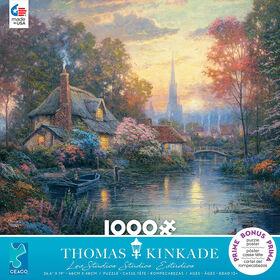 Ceaco Thomas Kinkade 1000 Pièces Nanette's Cottage