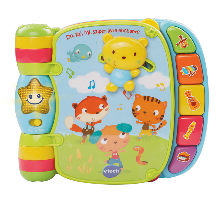 Vtech - Musical Rhymes Book - French Edition