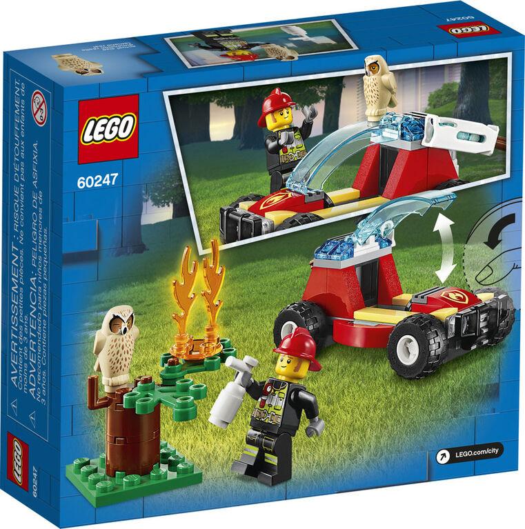 LEGO City Fire Le feu de forêt 60247
