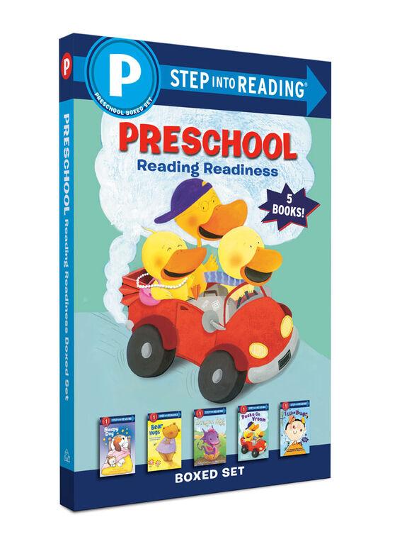 Preschool Reading Readiness Boxed Set - English Edition