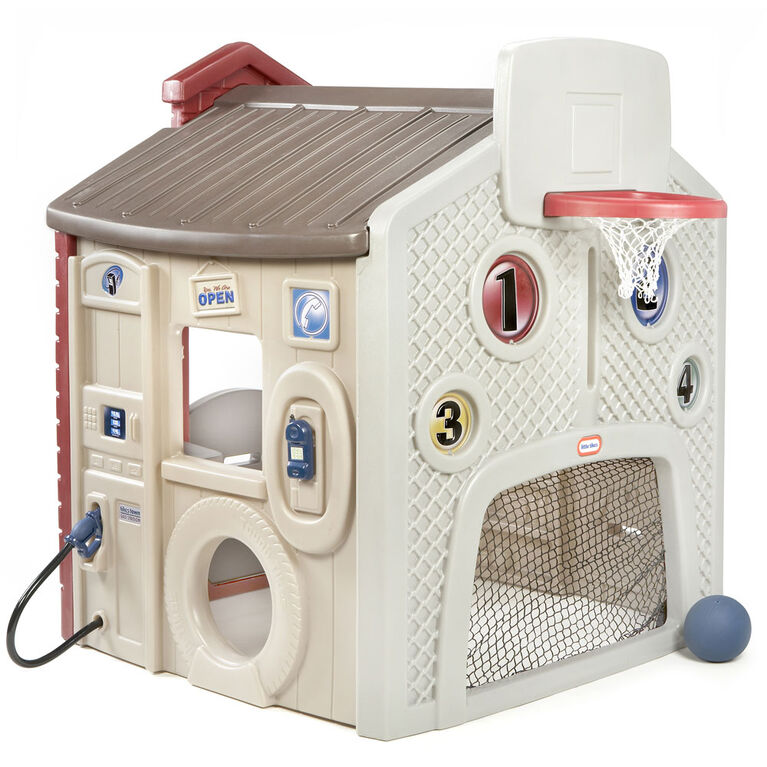 Little Tikes Town Playhouse with Sports Wall