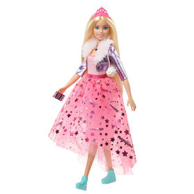 Barbie Princess Adventure Doll in Princess Fashion (12-inch) with Puppy