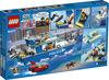 LEGO City Police Le bateau de patrouille de la police 60277