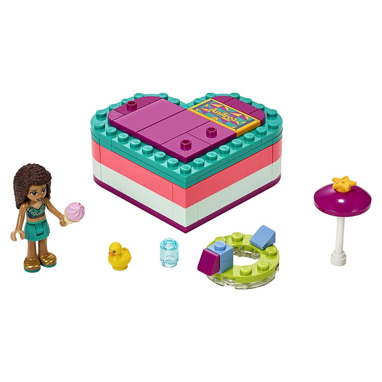 LEGO Friends Andrea's Summer Heart Box 41384
