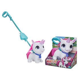 furReal Walkalots Big Wags Unicorn Interactive Pet Toy, Sounds and Motion