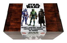 Star Wars  Bountry Hunters Trunk Set