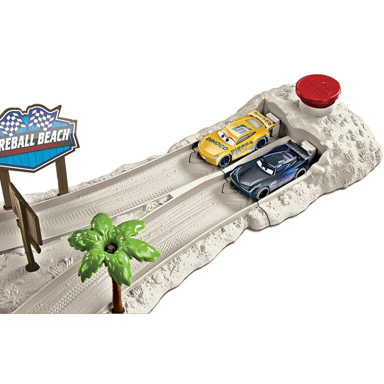 Disney/Pixar Cars Fireball Beach Racers Beach Duel Playset