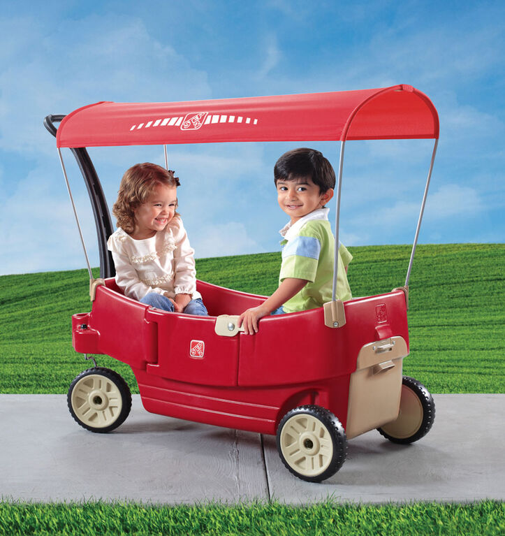 All Around Wagon With Canopy
