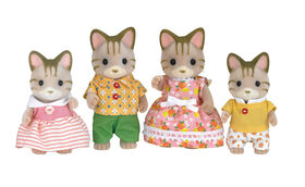Calico Critters - Sandy Cat Family