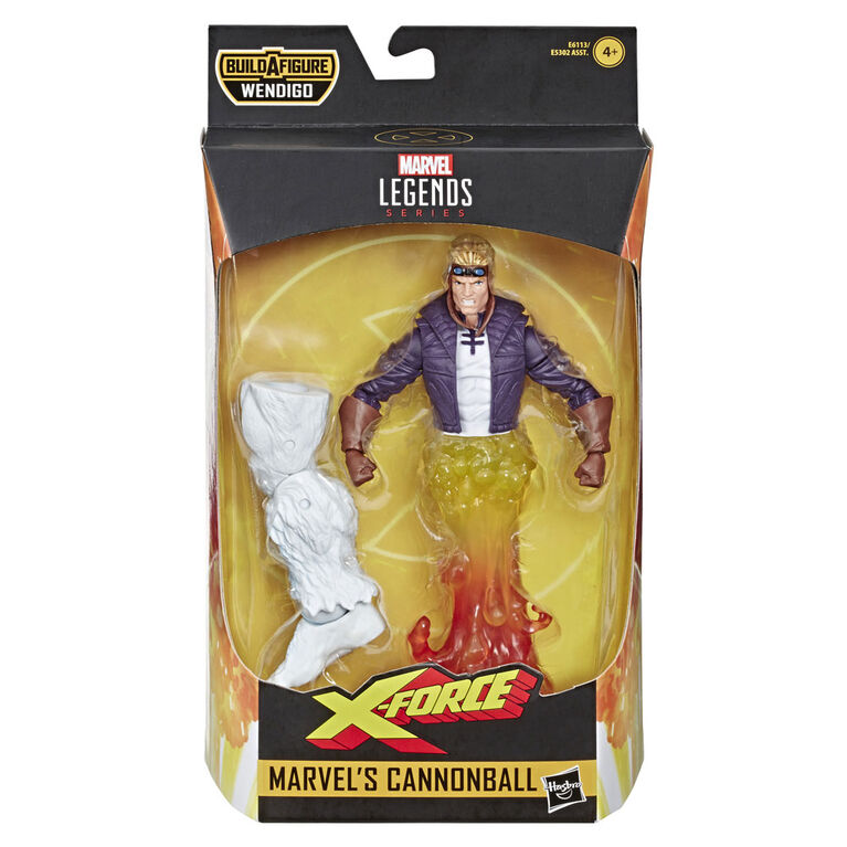 Hasbro Marvel Legends Series 6-inch Collectible Action Figure Marvel's Cannonball