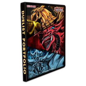 Portfolio 9 pochettes Yu-Gi-Oh! Slifer, Obélisk et Râ - Édition anglaise