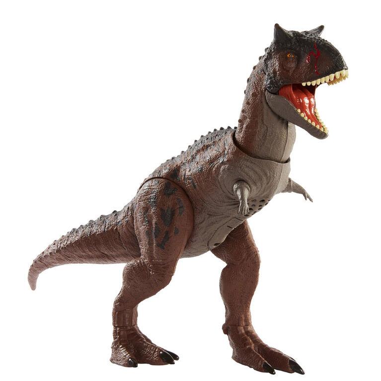 Jurassic World Camp Cretaceous - Carnotaure «Toro» Contrôle Et Conquête