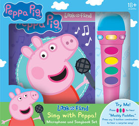 Book Box Module Microphone Peppa Pig - English Edition