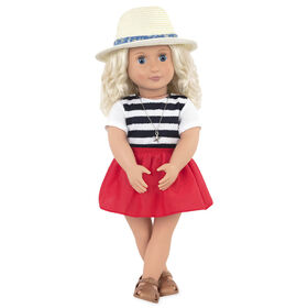 Our Generation, Clarissa, 18-inch Travel Doll