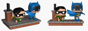 Figurine en vinyle Batman et Robin (1972) de Batman 80th par Funko!.