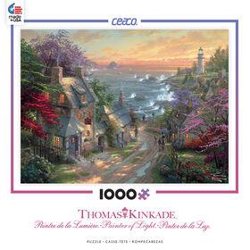 Thomas Kinkade Casse-Tête 1000 Morceaux - Phare du Village.