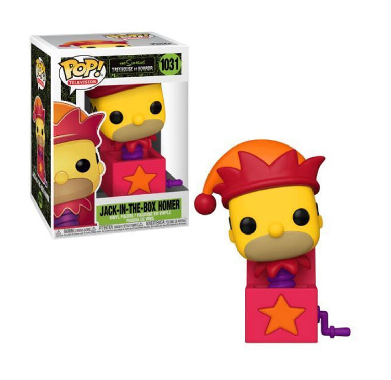 Funko POP! TV: The Simpsons The Treehouse of Horror - Jack in the Box Homer