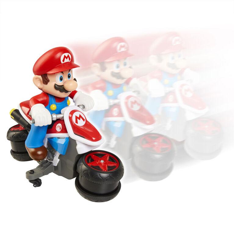 Mini-moto Racer téléguidé du Monde de Nintendo.