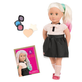 "Our Generation, Amya ""With Flying Colors"", 18-inch Deco Doll"