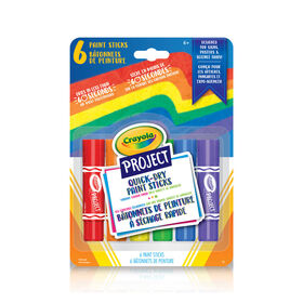 Crayola - Project 6 Quick Dry Paint Sticks