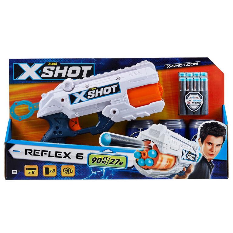 Ensemble de pistolets X-Shot Excel Reflex 6