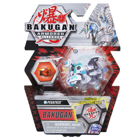 Bakugan, Pegatrix, 2-inch Tall Armored Alliance Collectible Action Figure and Trading Card