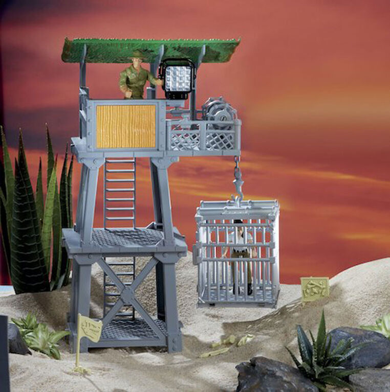 Animal Planet - Spinosaurus Tower Mega Playset - R Exclusive