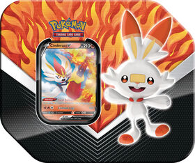 Pokemon Galar Partners Tin - Scorbunny