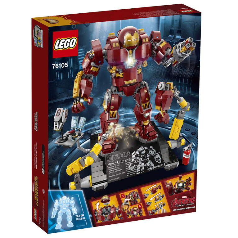 LEGO Super Heroes The Hulkbuster: Ultron Edition 76105